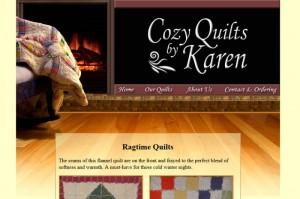 Cozy Quilts by Karen
